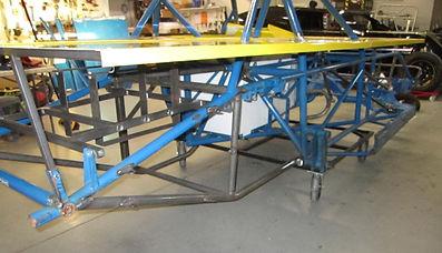 Bob Harris Enterprises Dirt Track Race Car Chassis Repair