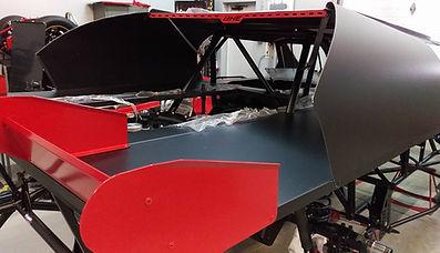 Bob Harris Enterprises Body Race Car