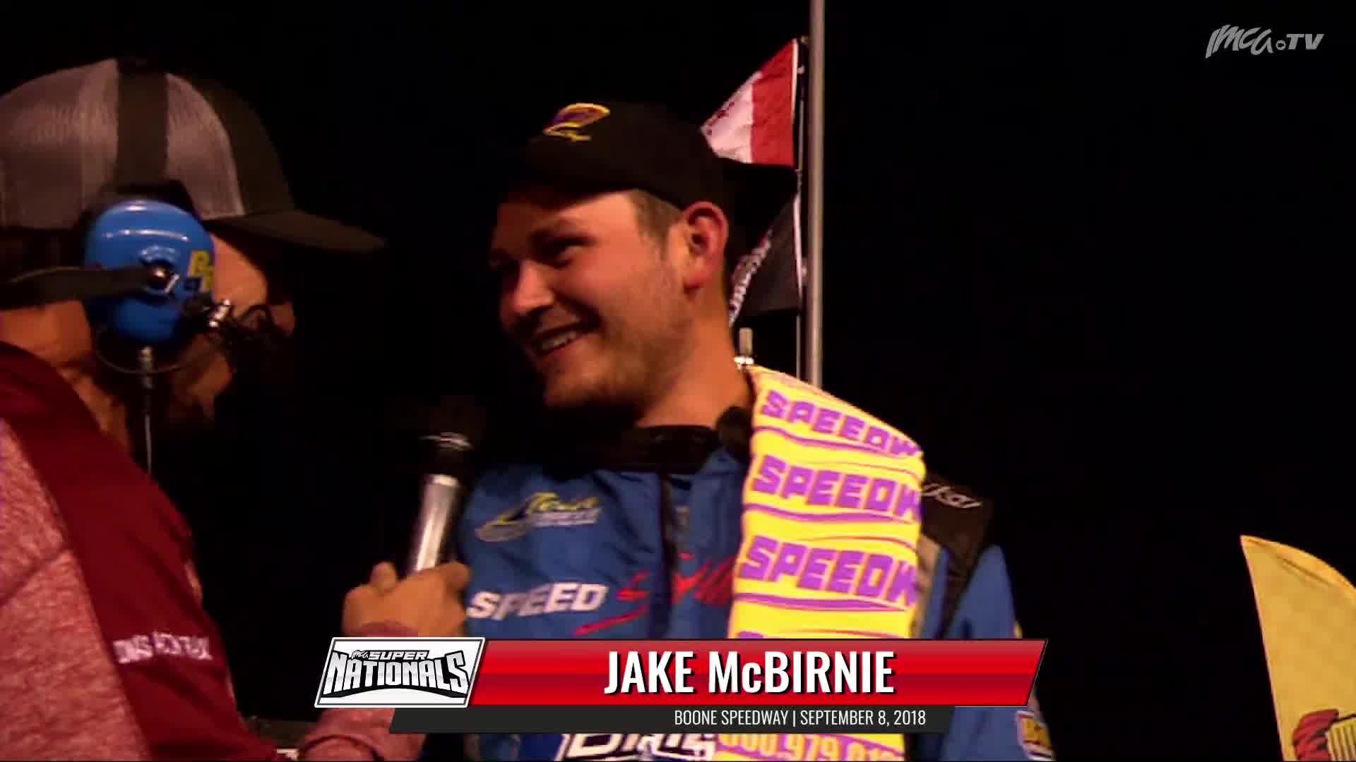 9/8/18 Victory Lane 82 Jake McBirnie Boone Speedway