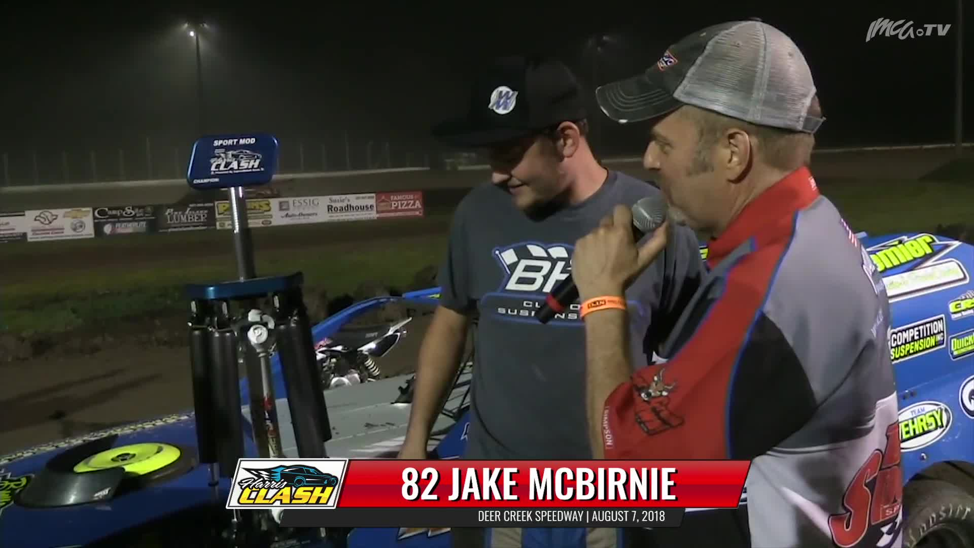 8/7/18 Victory Lane 82 Jake McBirnie Deer Creek Speedway
