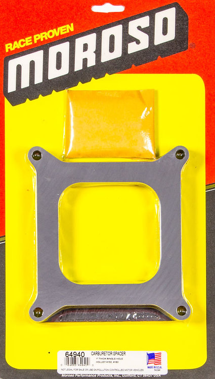MOROSO CRATE CARBURETOR SPACER