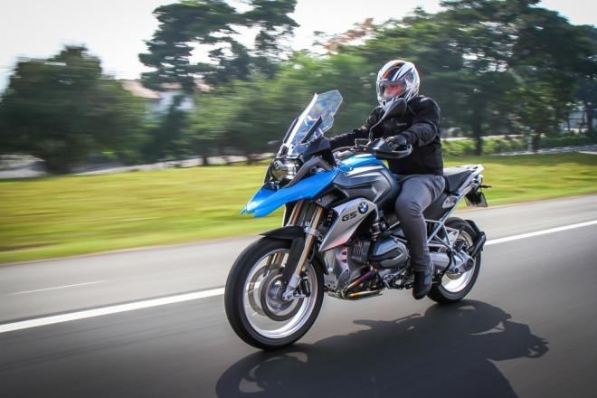 Postura na moto