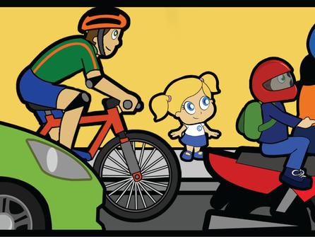 Crianças na garupa da moto? Cautela máxima!