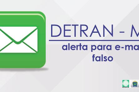 Detran-MS alerta sobre e-mails falsos