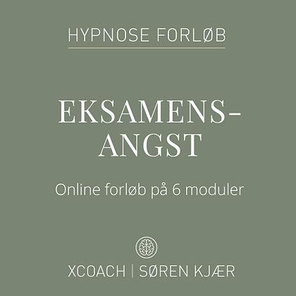 Gavekort til slip eksamensangst med hypnose onlineforløb