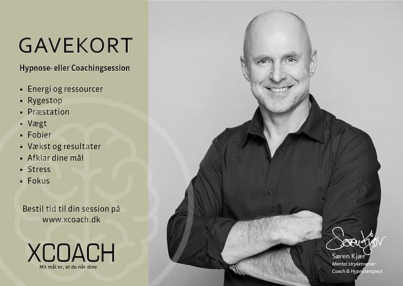 Gavekort til Coaching eller Hypnose