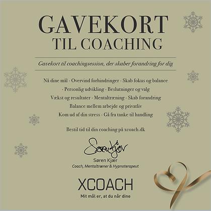 Gavekort til Coaching