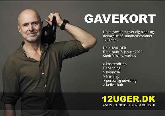 GAVEKORT ·HOLD: KVINDER, AARHUS - 7/1-2020