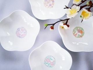 テーブルの可愛いアクセントに♡お正月豆皿