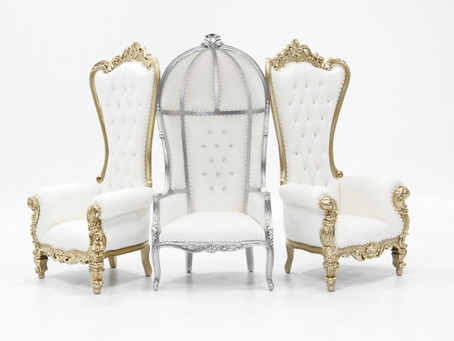 Throne chair rentals