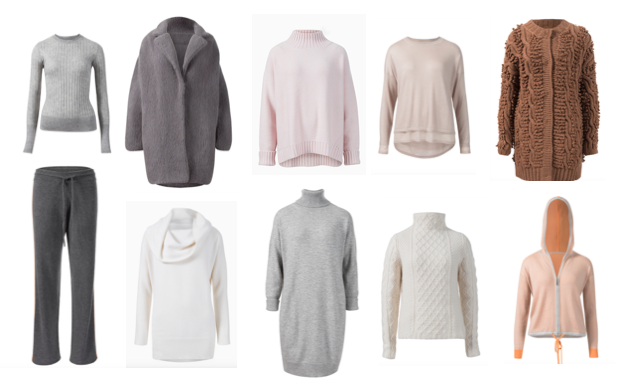 Maya Cashmere garments
