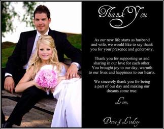 Dan and LIndsey's Wedding