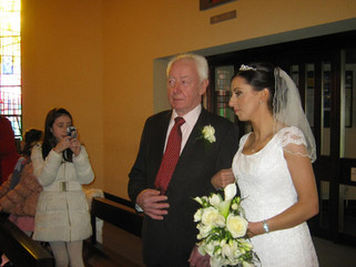 Roisin Geoghegan and her father