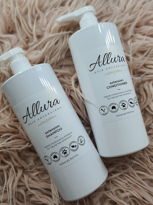 1L Hair Extension Shampoo & Conditioner