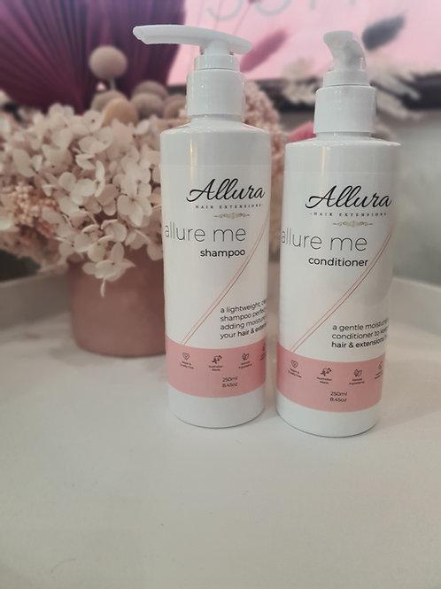 250ml Allure Me Shampoo & Conditioner