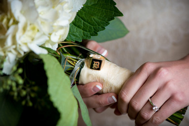 Bank of Flowers Wedding Bouquet Milwaukee | Lanari Photography