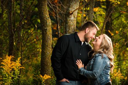 Autumn Engagement Session Lanari Photography