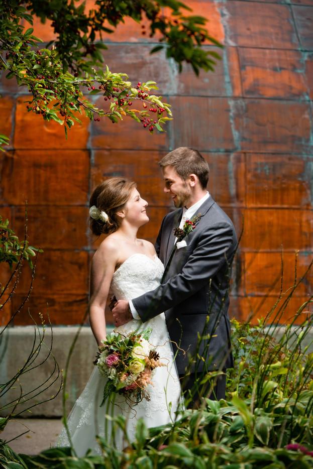 Pamperin Park Wedding Portrait