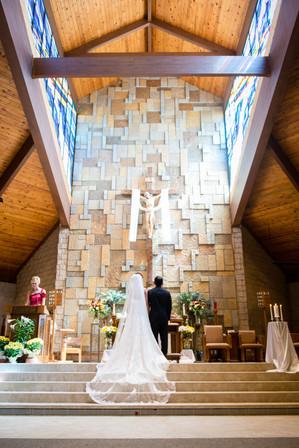 St Pius X Appleton Catholic Wedding Ceremony
