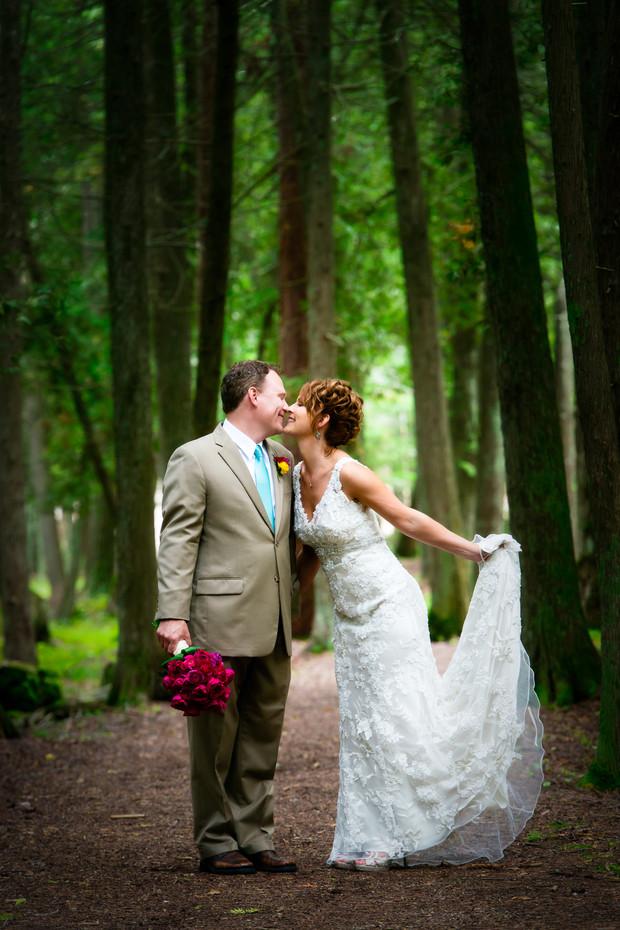 Gordon Lodge Wedding Portrait Door County WI