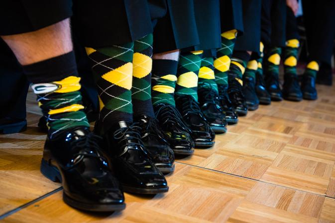 Green Bay Packers Socks Groomsmen