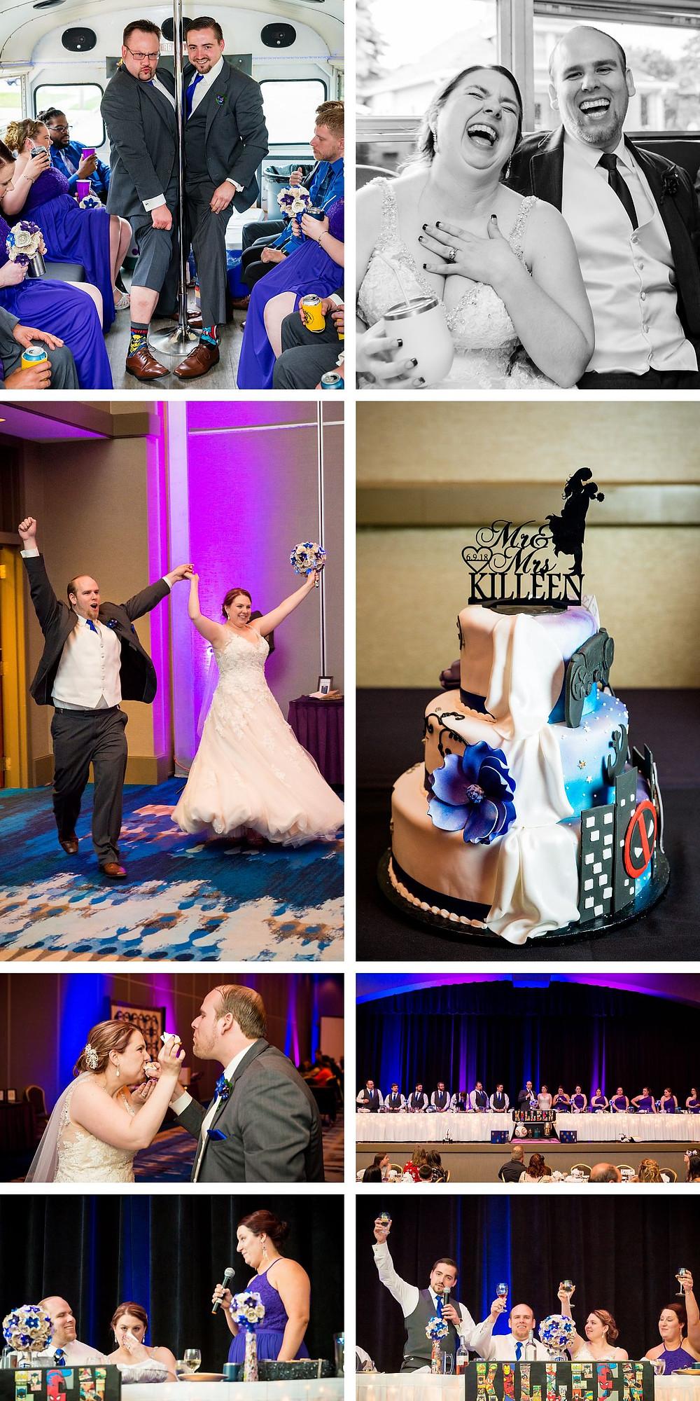 Radisson Green Bay Wisconsin Wedding Photographs Lanari Photography