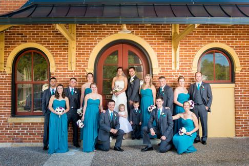 Galena IL Wedding Party