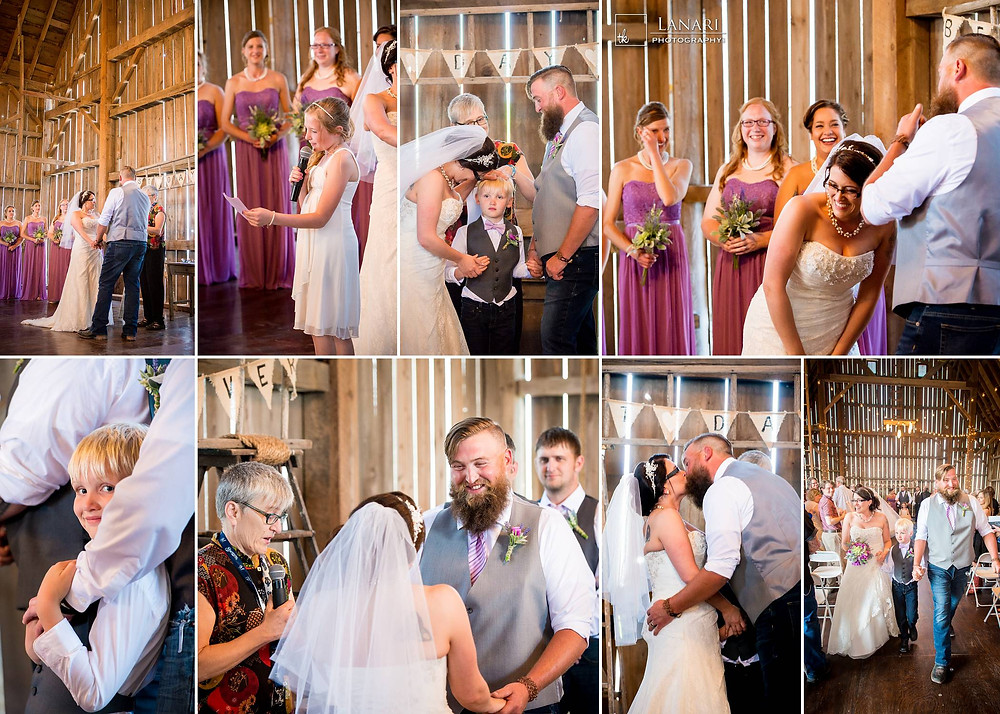 Brighton Acres Oshkosh Wedding Ceremony | Lanari Photography