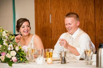 Bride and Groom Dinner Lambeau Field