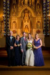 Milwaukee Wedding Family Portrait