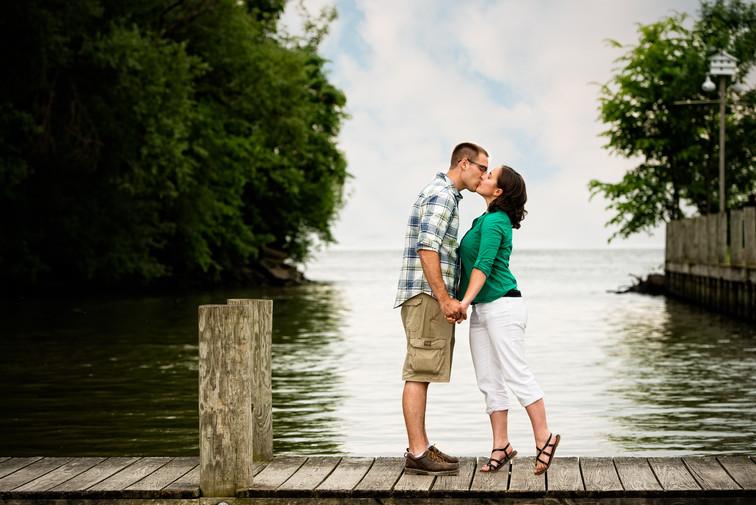 Dock Lake Engagement Lanari Photography
