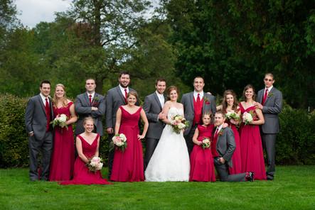 Pamperin Park Green Bay WI Wedding