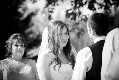 Fall Wedding Ceremony Homestead Meadows Appleton WI