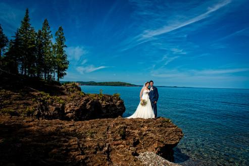 Marquette Michigan Wedding Photos