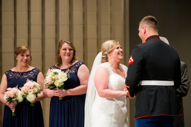 Bride Candid Wedding Ceremony