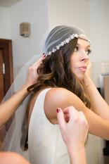 Juliet Cap Veil Green Bay Wedding Lanari Photography