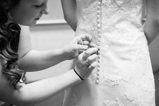 Winter Wedding Bridal Preparations