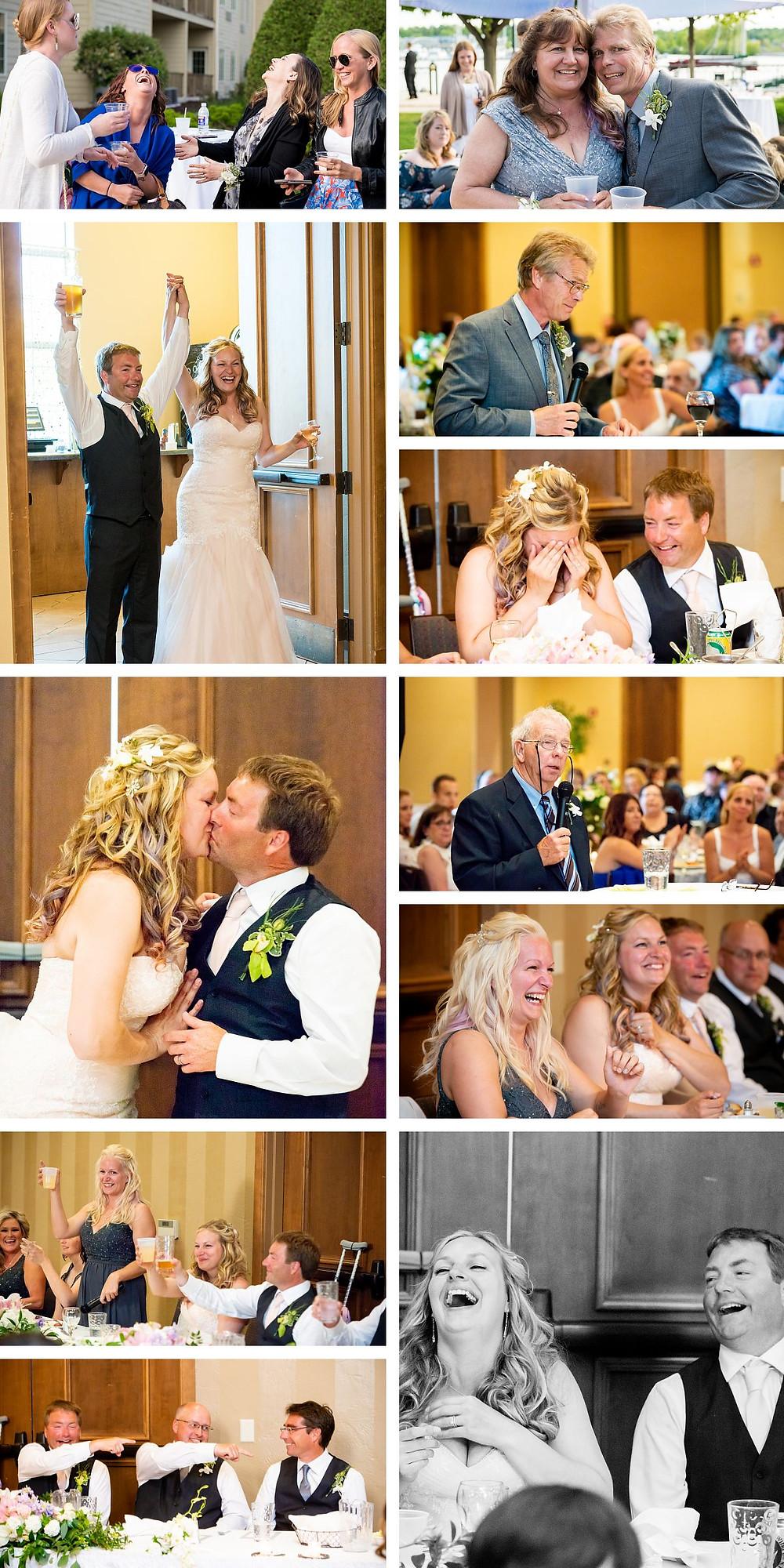 Stone Harbor Sturgeon Bay Wedding Reception Lanari Photography