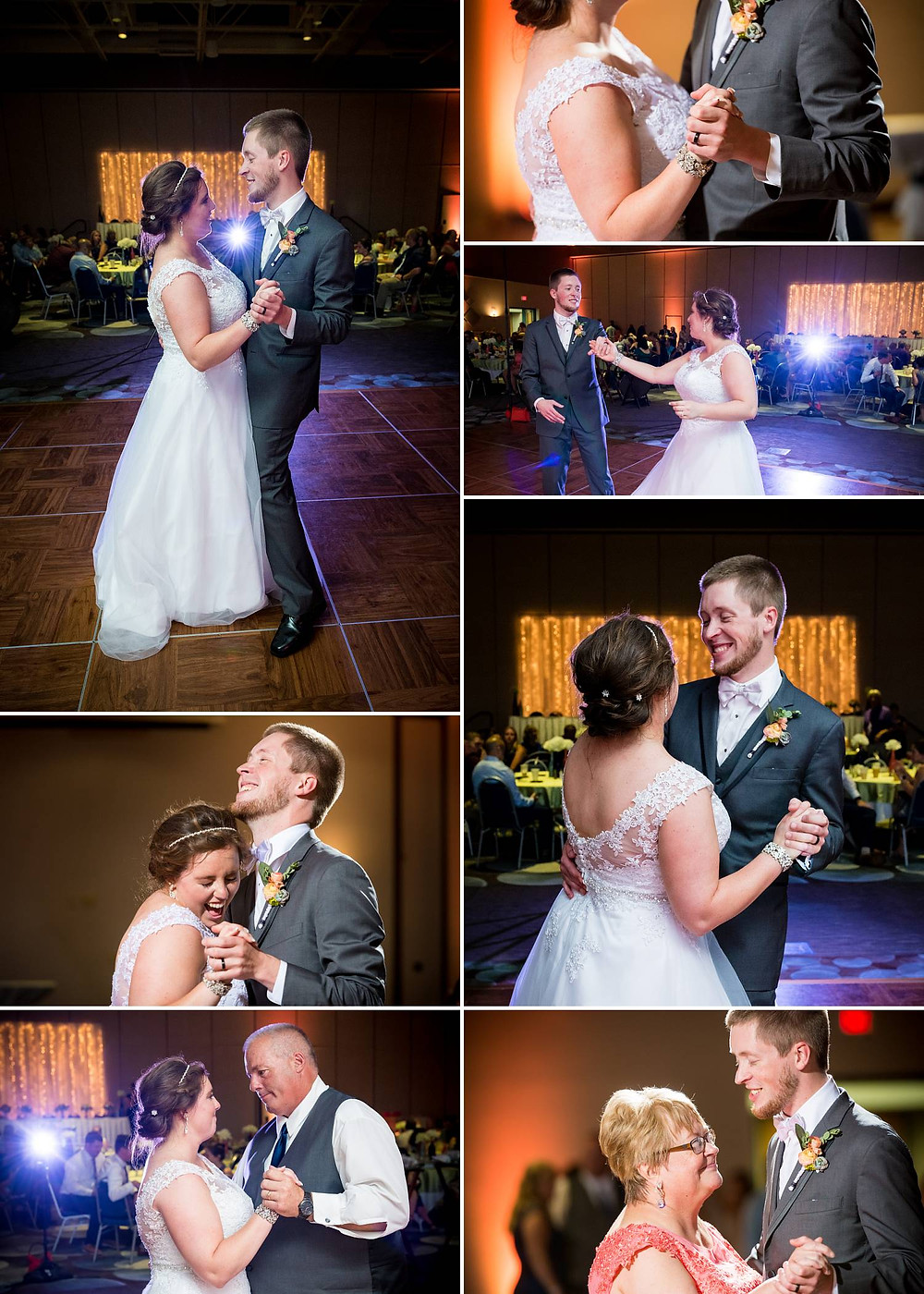 Oshkosh Convention Center Wedding First Dance   Lanari Photography