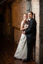 Winter Wedding Portrait Carsten's Mill