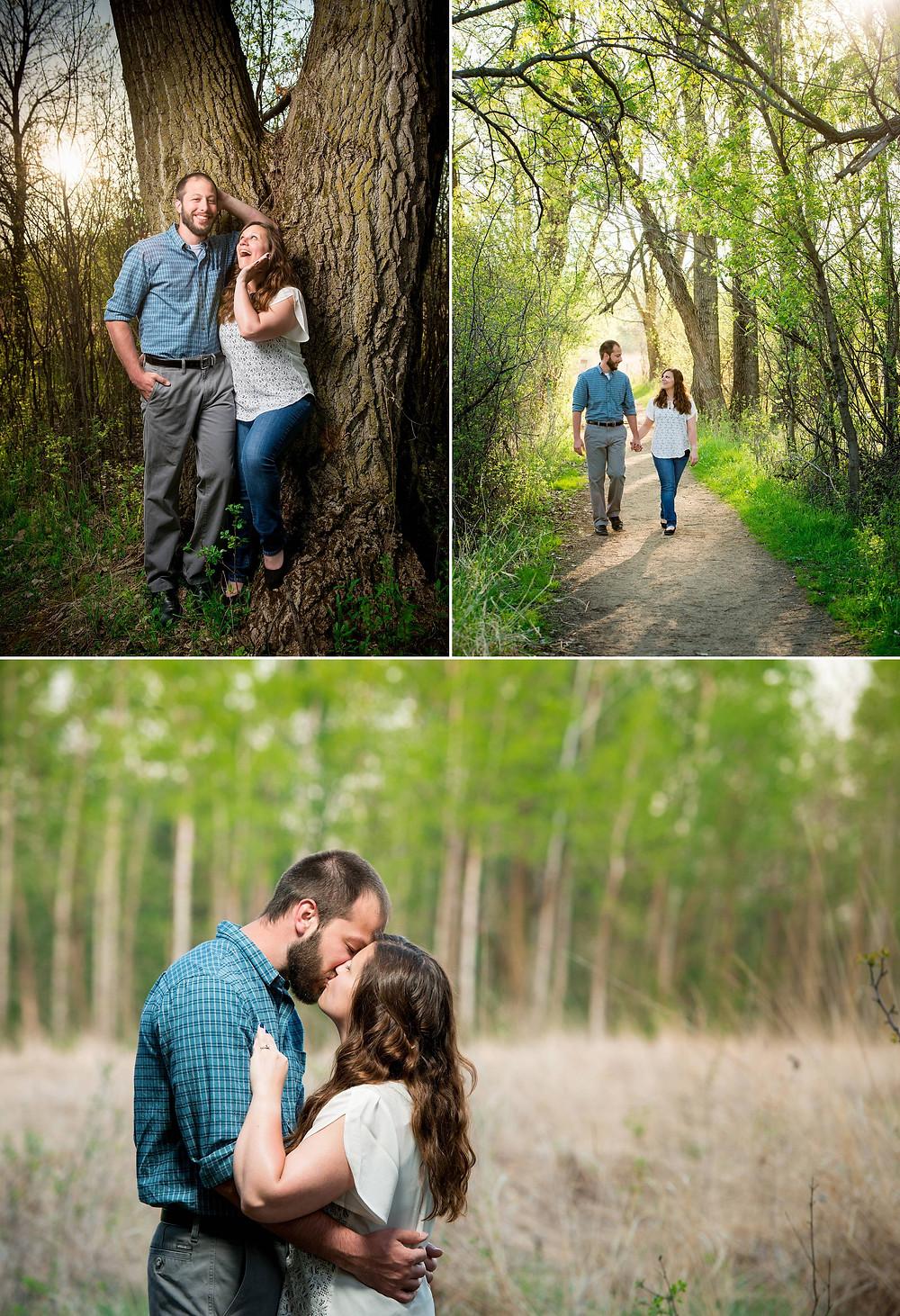 Spring Engagement Photos Wisconsin | Lanari Photography