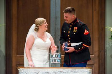 Unity Sand Candid Wedding Ceremony