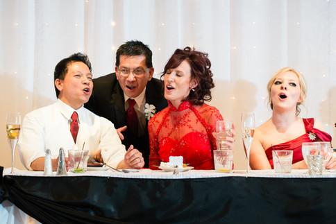 Singing Wedding Dinner, Red Lion Paper Valley Appleton