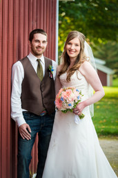 Fall Wedding Portrait Homstead Meadows Appleton WI