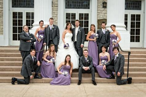 Appleton Wedding Party Lawrence University WI