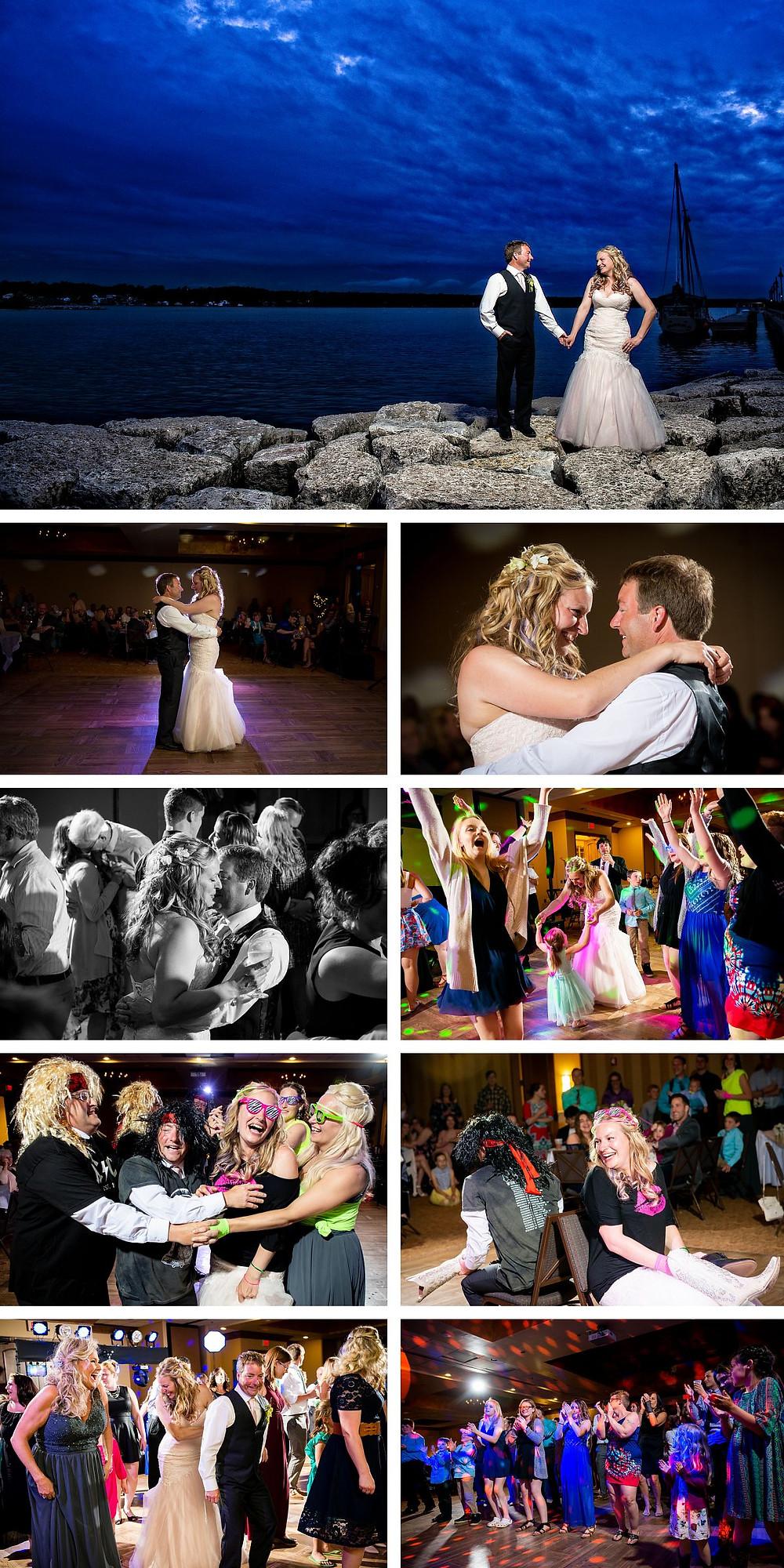 Stone Harbor Door County Wedding Photographer Elite Music Service Lanari Photography