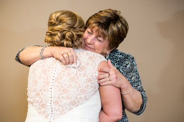 Bride with Mother In Law Green Bay WI