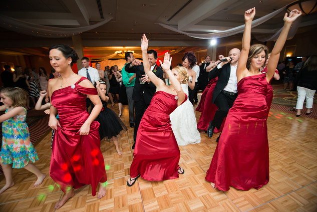Bridesmaids Dance, Red Lion Paper Valley