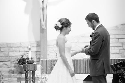 Green Bay Wisconsin Wedding Ceremony | Lanari Photography