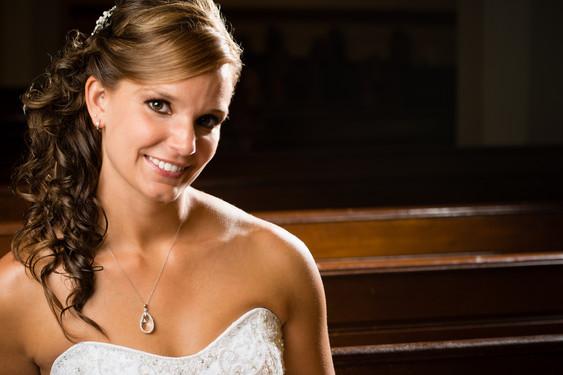 Indoor Bridal Portrait